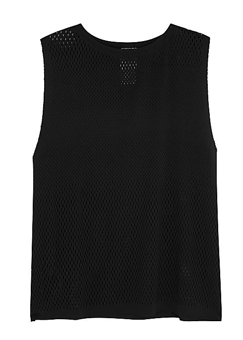 7c8935fc5cc603 adidas Training Black warp-knit tank - Harvey Nichols