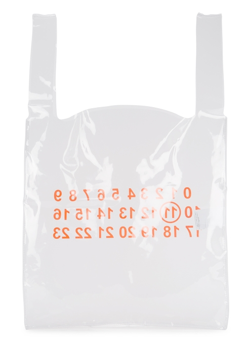 7026980c7437 Maison Margiela Clear plastic tote bag - Harvey Nichols
