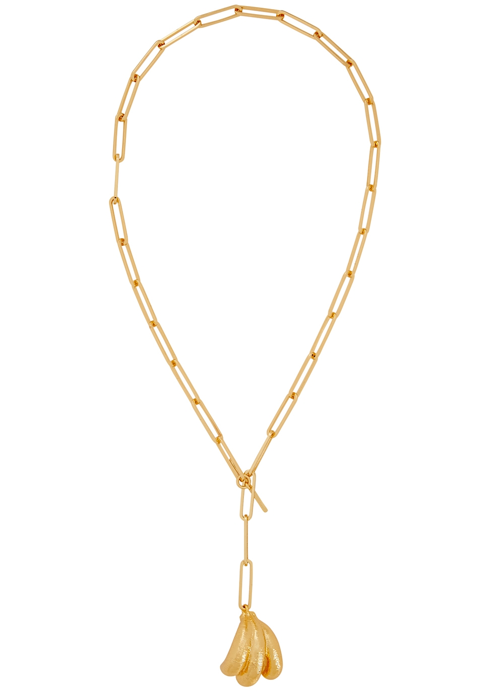 Sonia gold plated necklace - Rejina Pyo