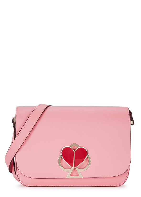 a5d906d034a9 Nicola pink leather cross-body bag Nicola pink leather cross-body bag. New  Season. Kate Spade New York