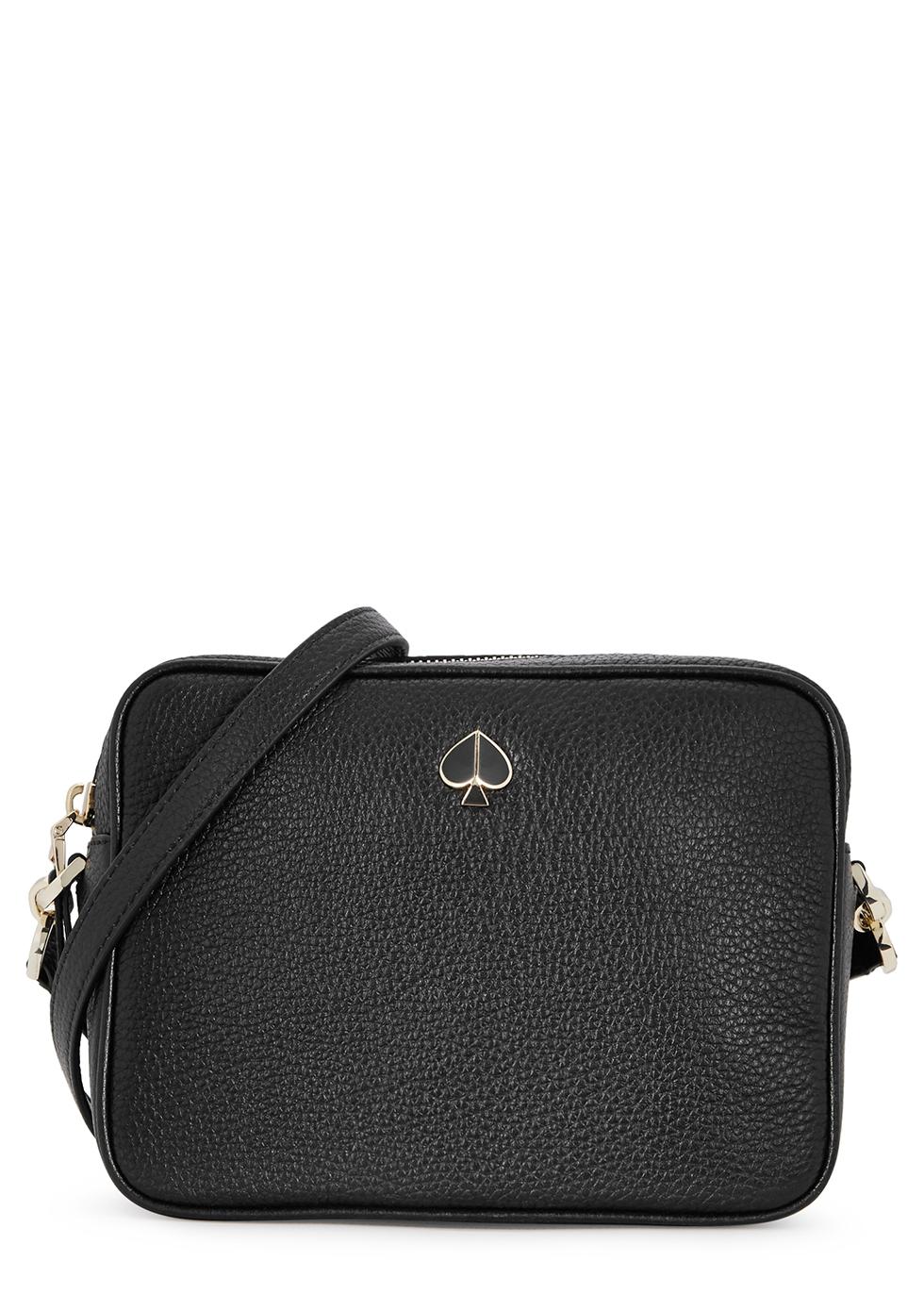 Polly medium leather camera bag - Kate Spade New York