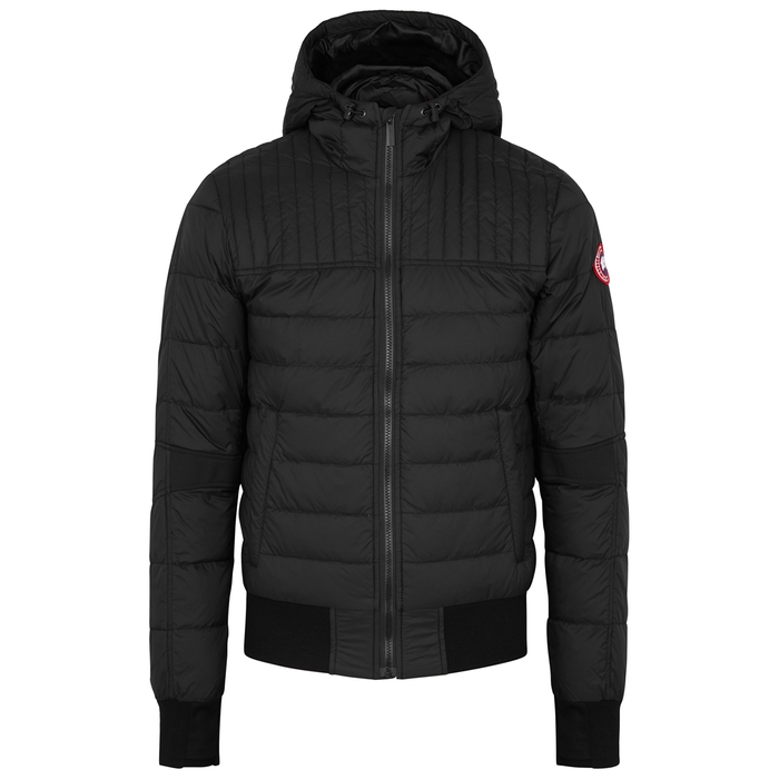 8d046a96b53 Canada Goose Cabri Black Quilted Shell Jacket
