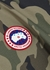 Field camouflage shell poncho - Canada Goose