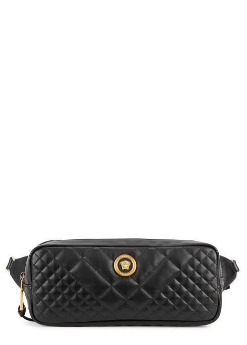 b77c74544792 Versace Tribute quilted leather belt bag - Harvey Nichols