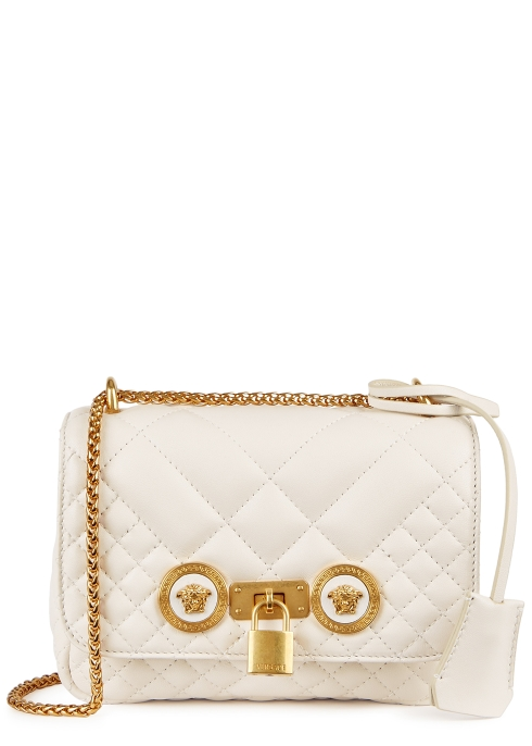 9a52021a85e8 Versace Tribute mini leather shoulder bag - Harvey Nichols