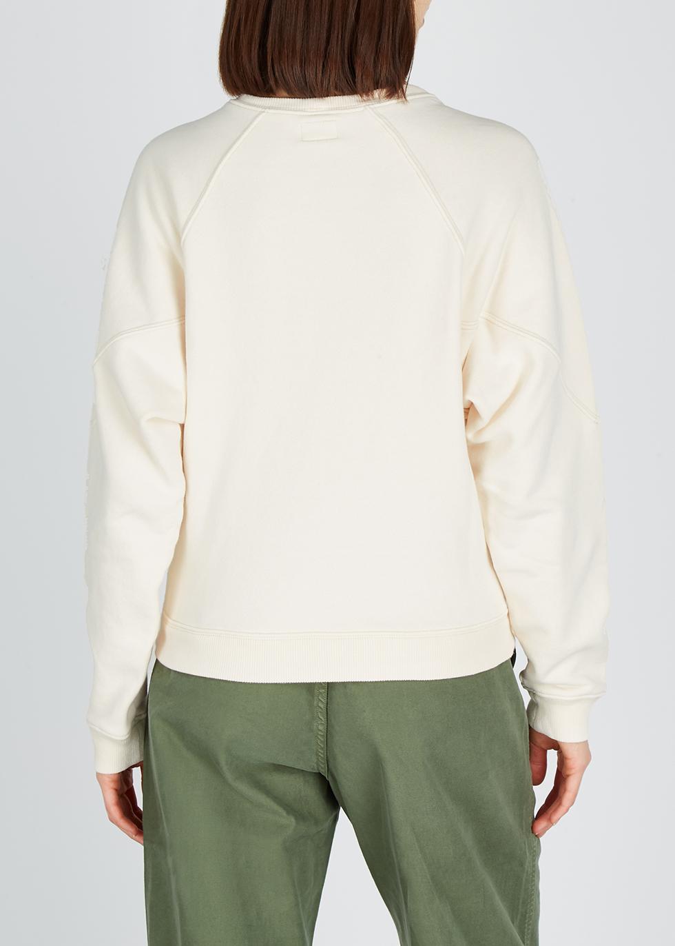 Lina cream cotton sweatshirt - Citizens of Humanity