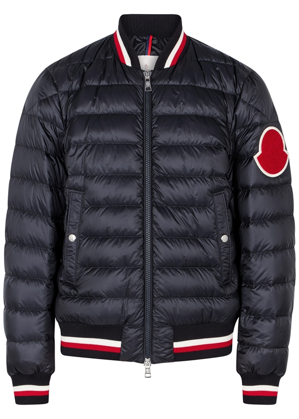 Deltour quilted shell bomber jacket ... a9d12b76d04c