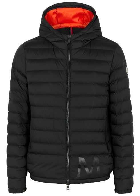 2ba48db23ac9 Moncler Dreux logo-print shell jacket - Harvey Nichols