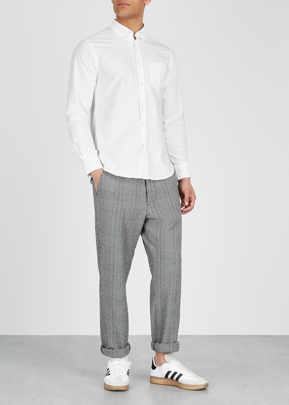Antime white cotton Oxford shirt - Officine Générale