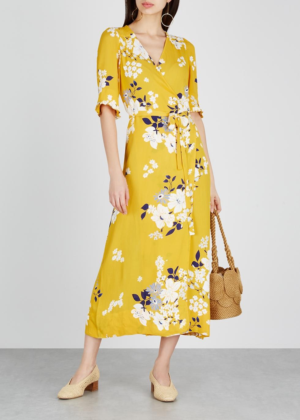 Pia floral-print wrap dress - Sea NY