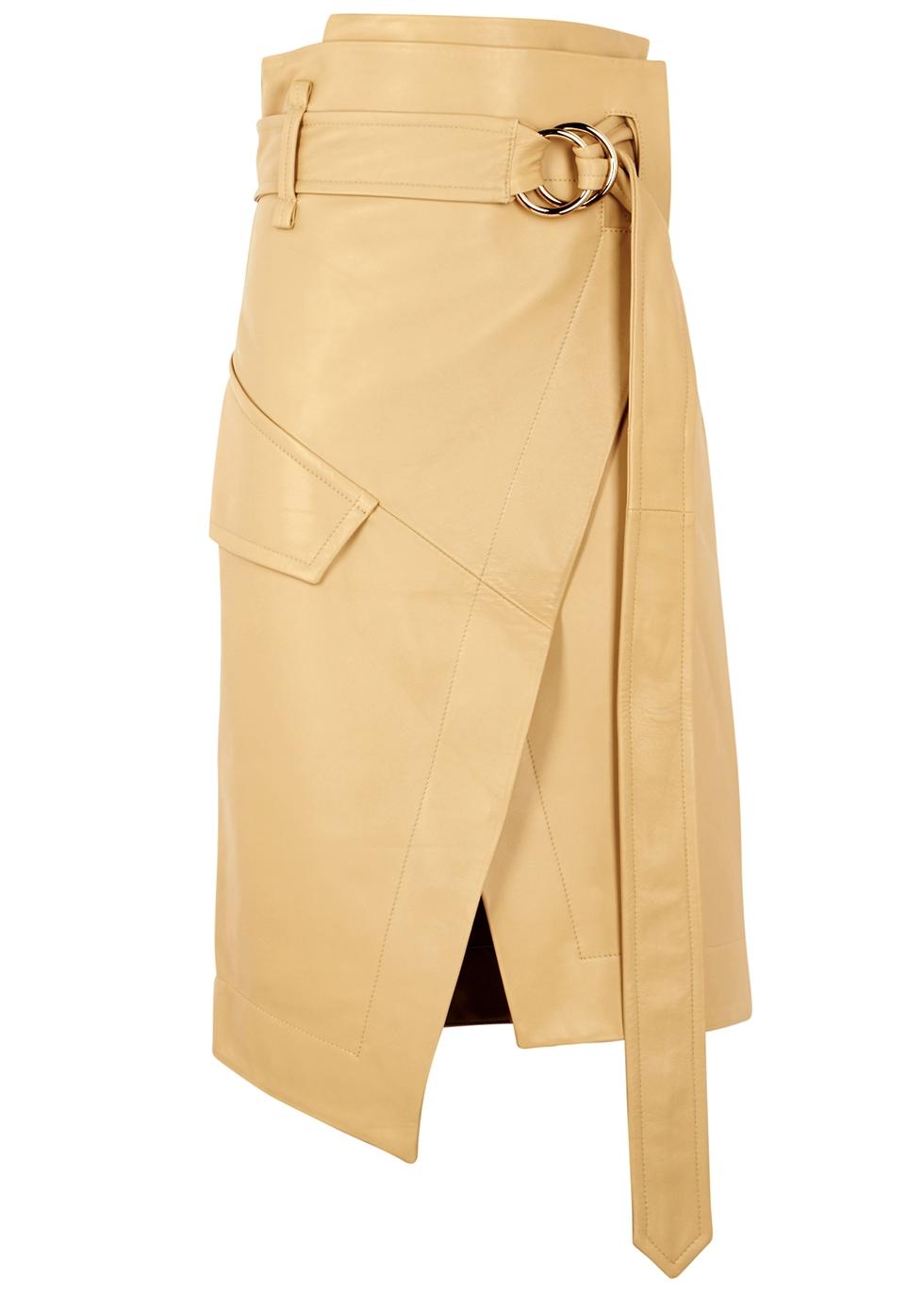e8b830ea0 Damenmode UNICORN LONDON Womens Real Leather Skirt Black BRAND NEW #6S