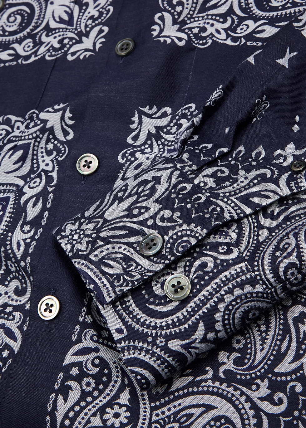 Nevada printed cotton-blend shirt - Études