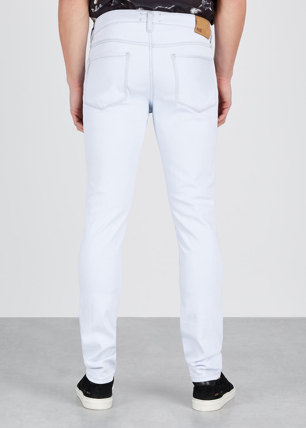 Croft light blue skinny jeans - Paige