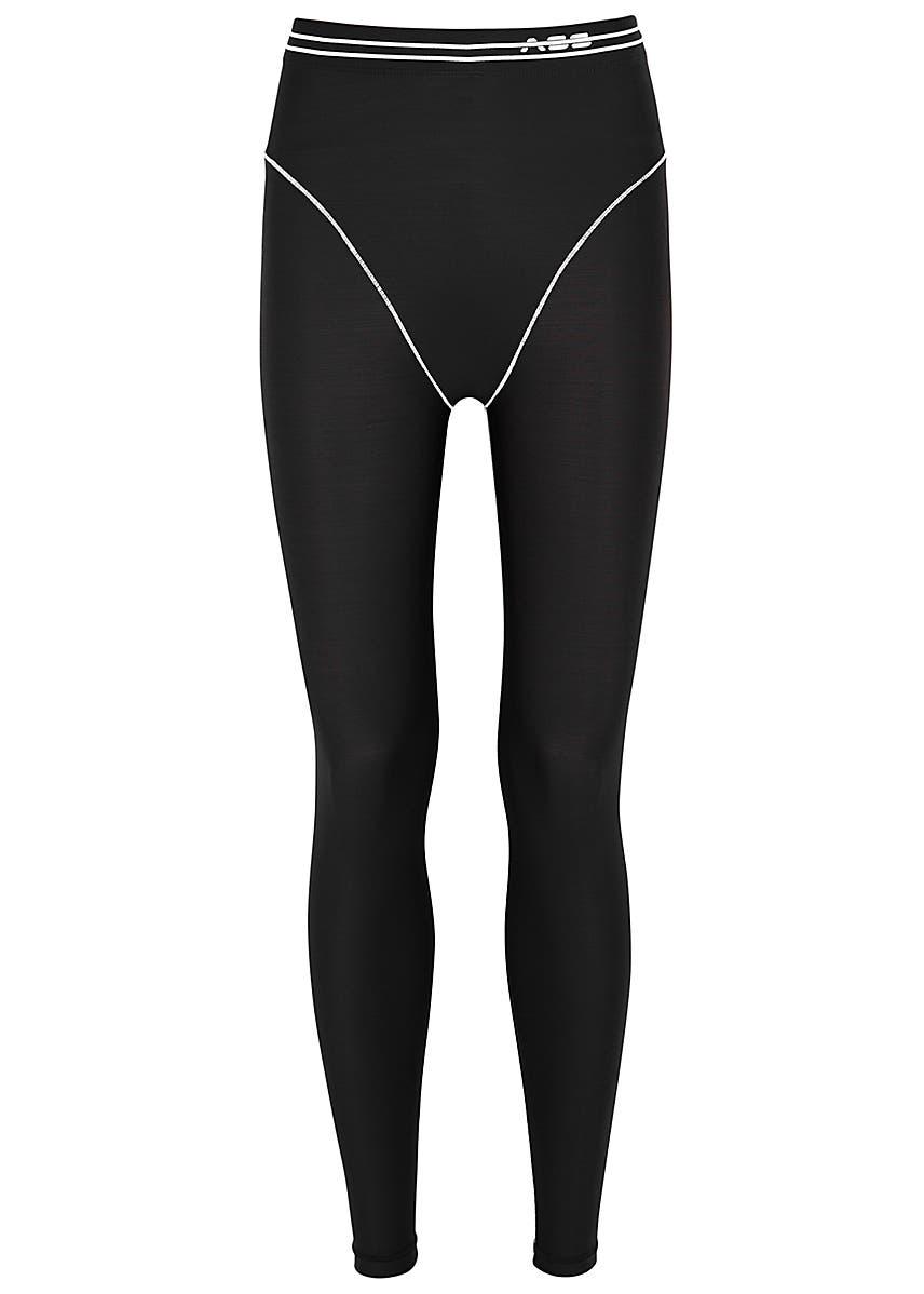 a945464134e31c Monochrome stretch-jersey leggings ...