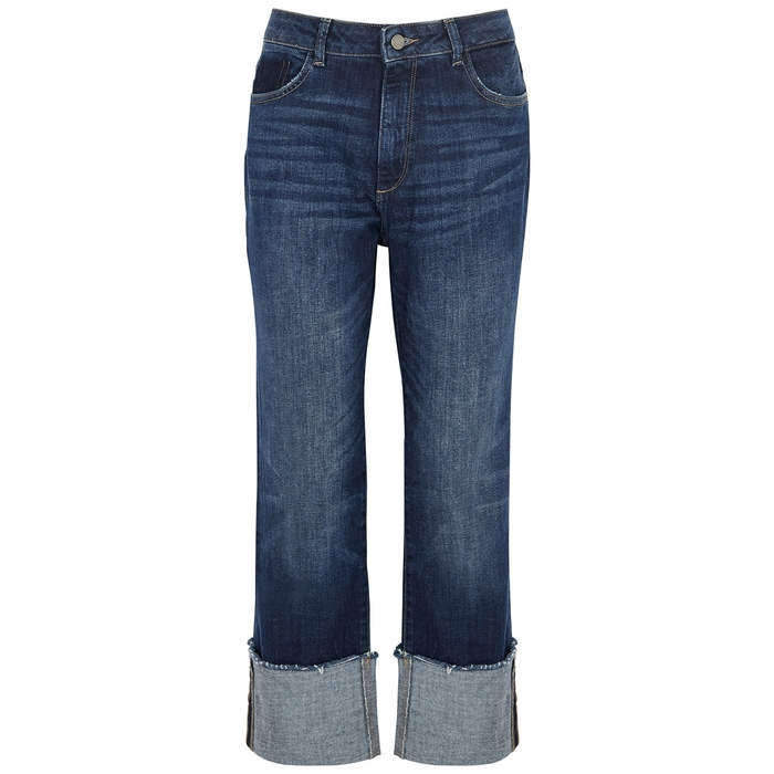 Dl Jeans JERRY BLUE STRAIGHT-LEG JEANS