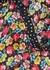 Juliet floral-print satin dress - RIXO