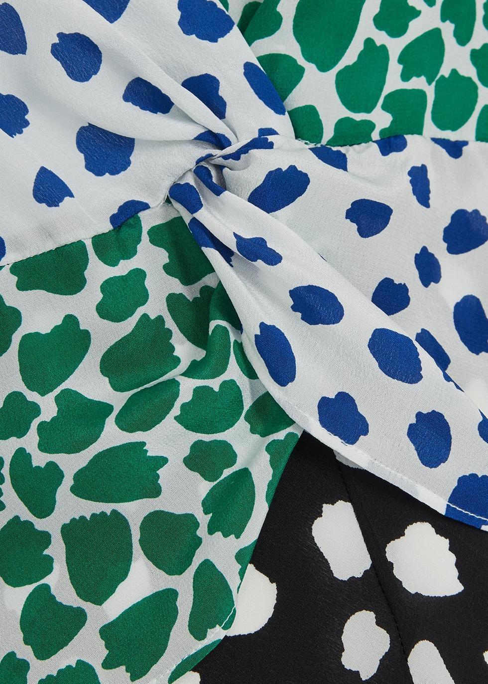 Chelsea printed silk midi dress - RIXO