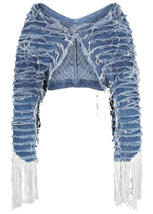 a0a27b72053 Levi s Made   Crafted Bolarao light blue distressed denim jacket ...