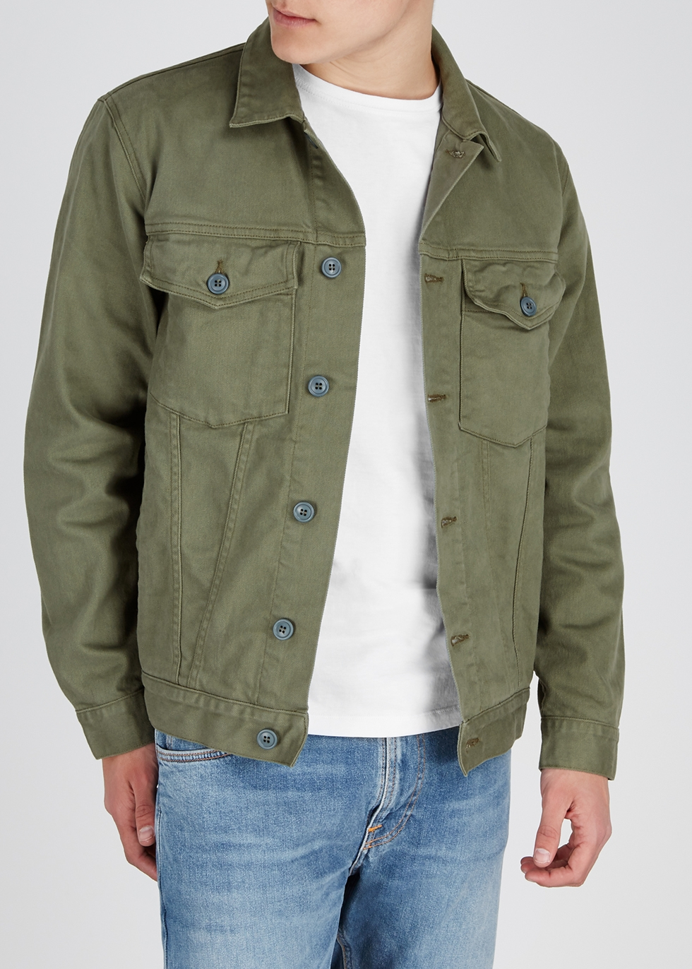 Army green denim jacket - Citizens of Humanity