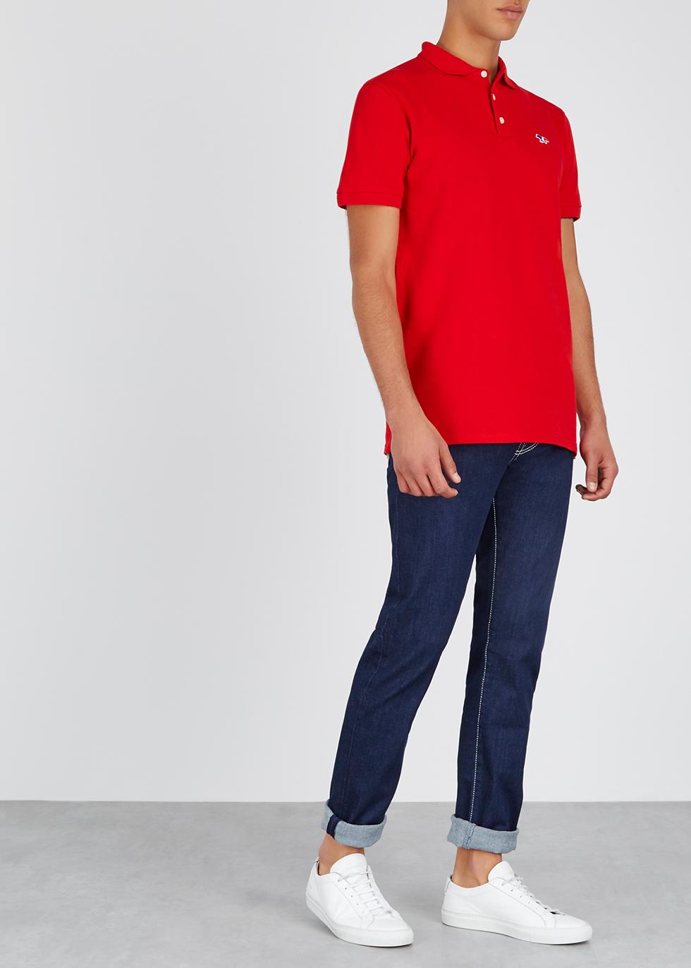 J625 dark blue slim-leg jeans - Jacob Cohën