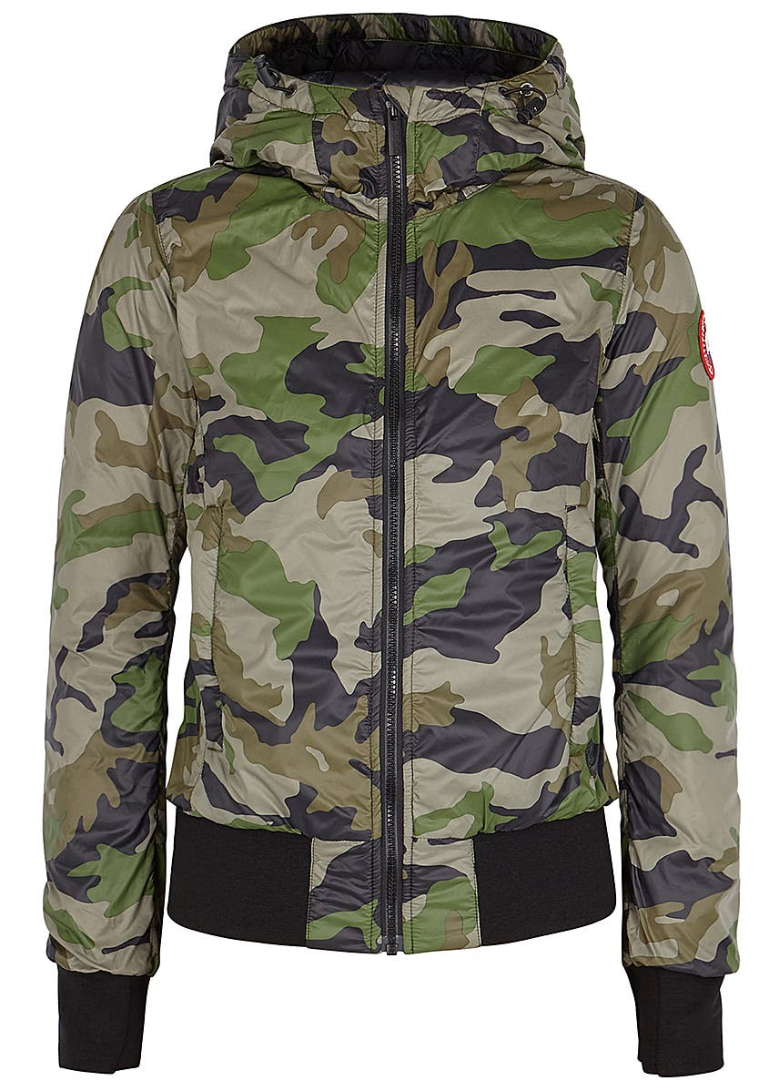 0a645f045658a Dore camouflage shell bomber jacket Dore camouflage shell bomber jacket. Canada  Goose