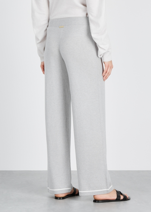 87c17c0996518 Heidi Klein St Moritz grey cashmere sweatpants - Harvey Nichols
