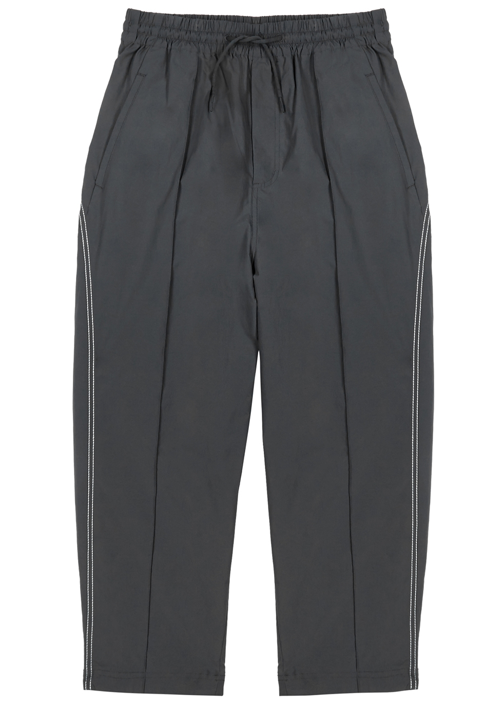 Dark gray wide-leg shell sweatpants - Y-3