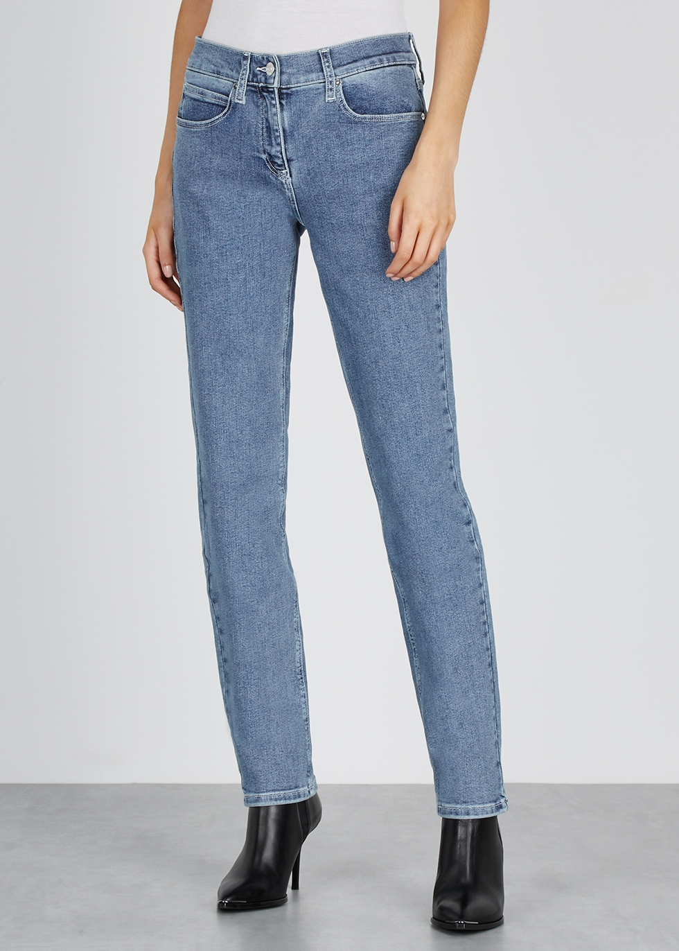 Blue slim-leg jeans - Calvin Klein