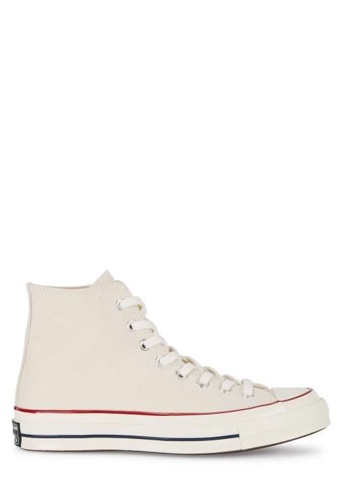 67406a0c8220 Converse Chuck 70 off white canvas hi-top trainers - Harvey Nichols