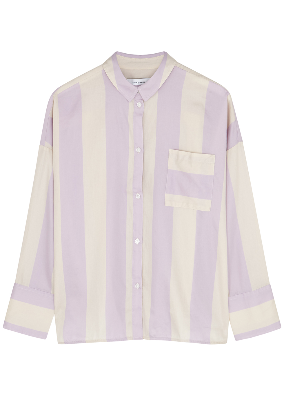 Oana striped cotton shirt - Samsøe & Samsøe