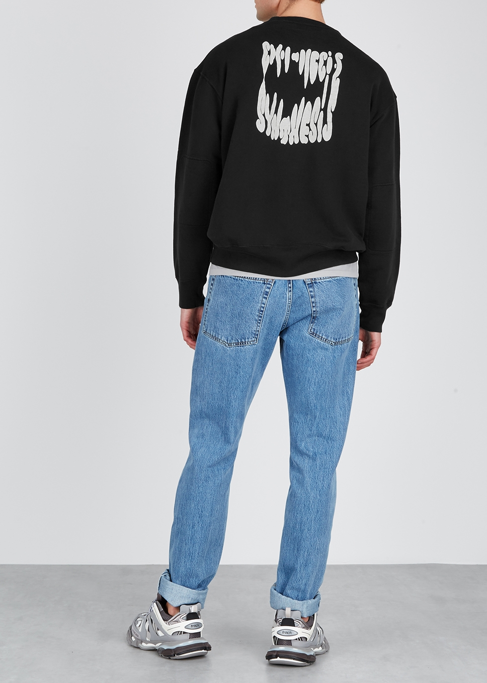 Synthesis black cotton sweatshirt - Our Legacy