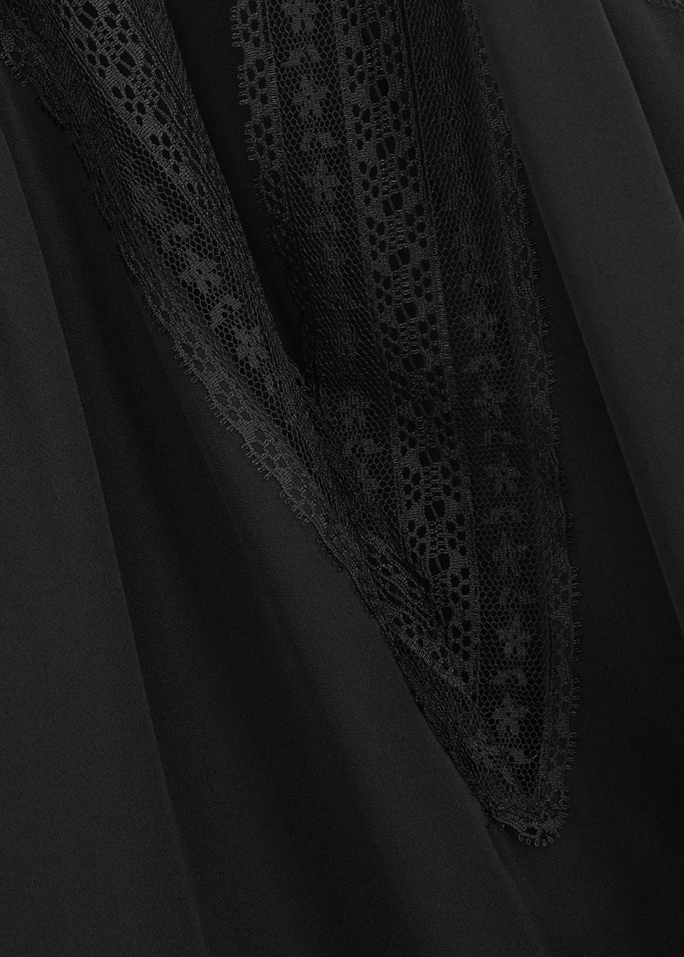 Chantry black silk cami - Cami NYC