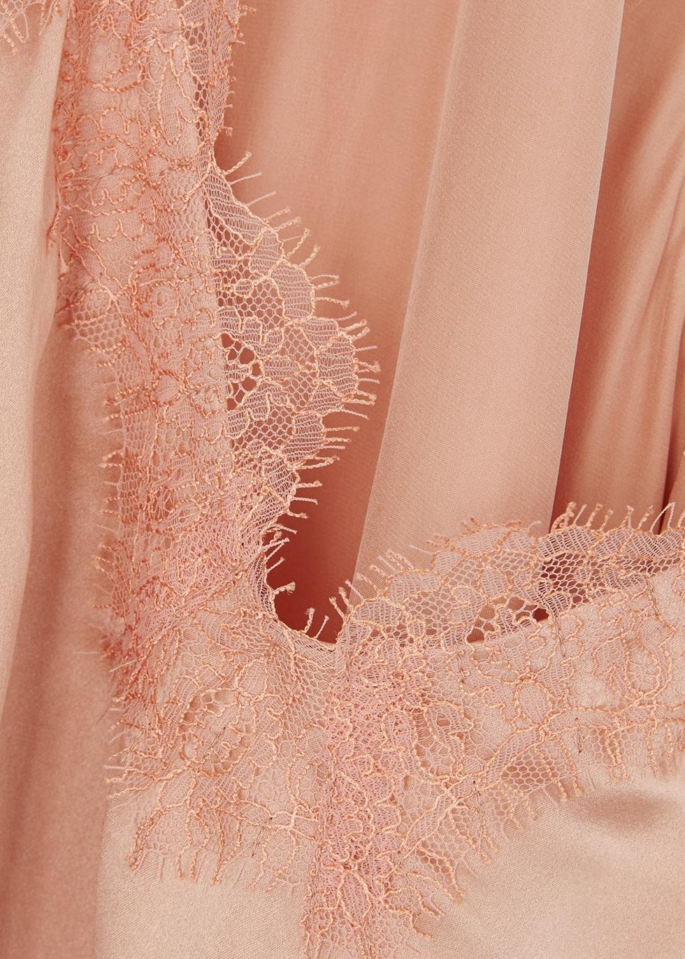 Charmeuse coral silk cami - Cami NYC