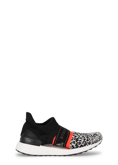 a89bd790850d2 adidas X Stella McCartney Ultraboost X 3D black Primeknit trainers ...