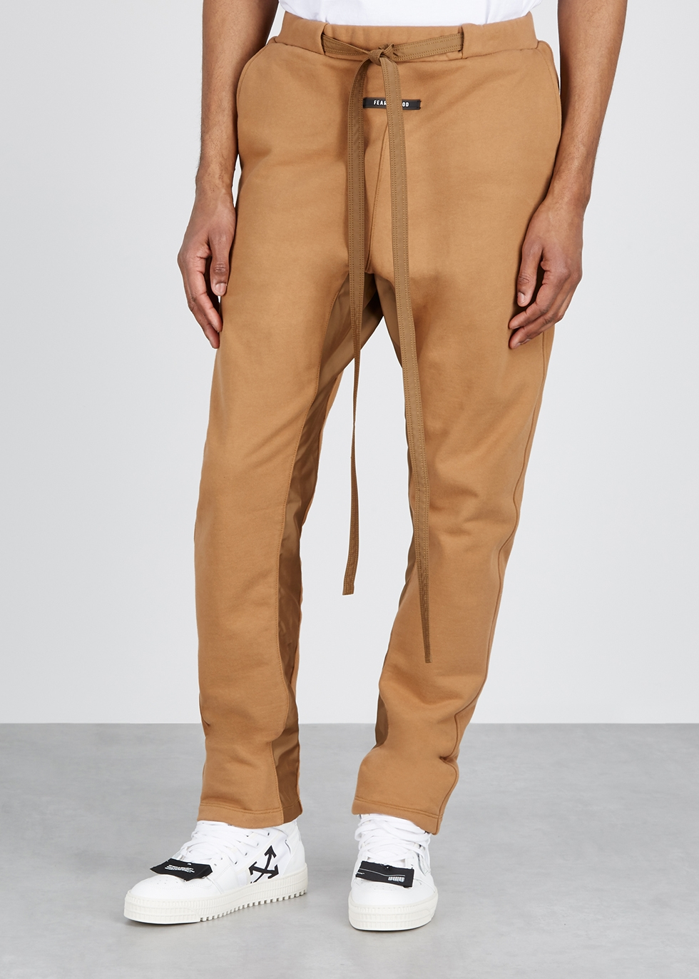 Camel jersey sweatpants - Fear of God