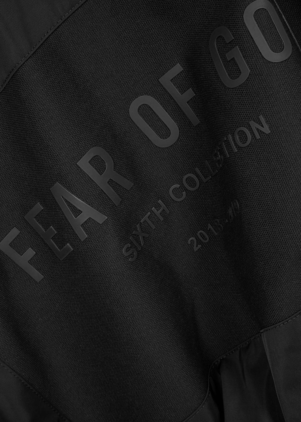 Black hooded shell jacket - Fear of God