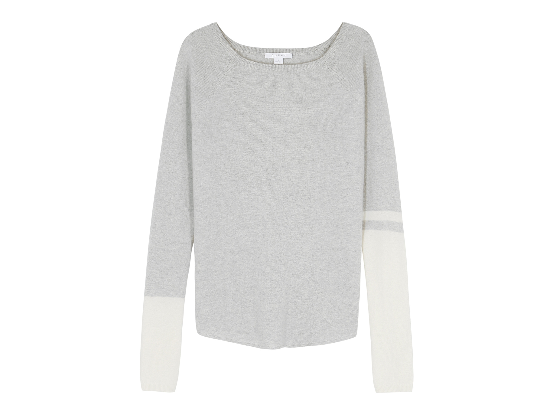 4bd2f8c228dc17 Duffy Pale grey cashmere jumper - Harvey Nichols