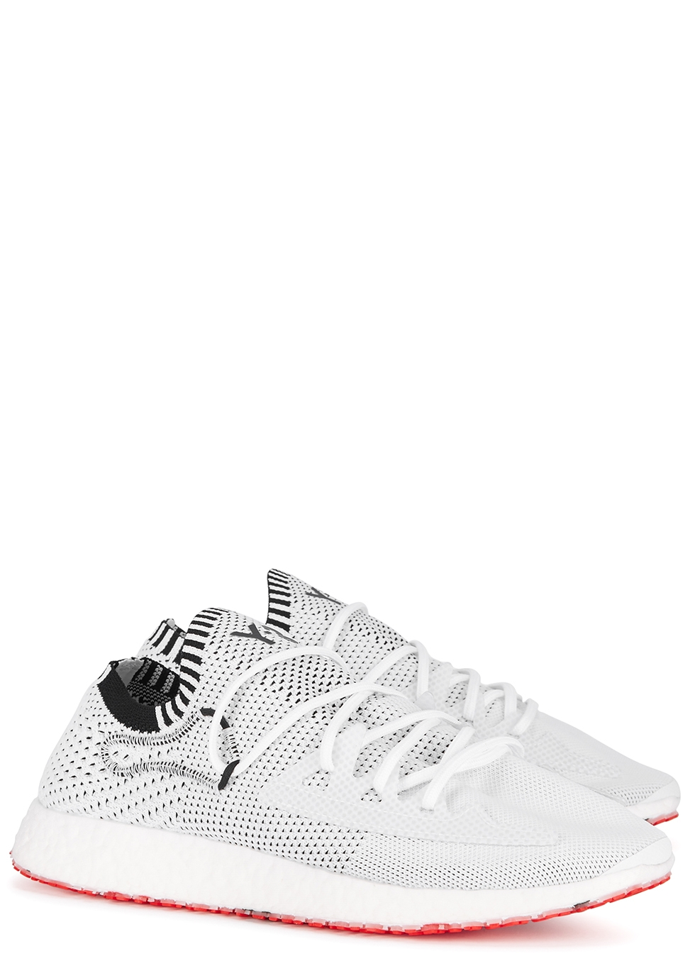 Raito white knitted mesh trainers - Y-3