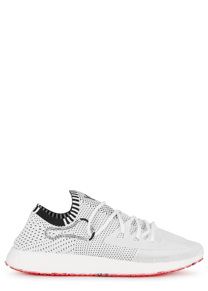 b985c0c860273 Y-3. Adizero Runner black mesh trainers. £250.00 · Raito white knitted mesh  trainers ...