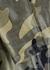 Lustrous cropped camouflage leggings - Koral Activewear