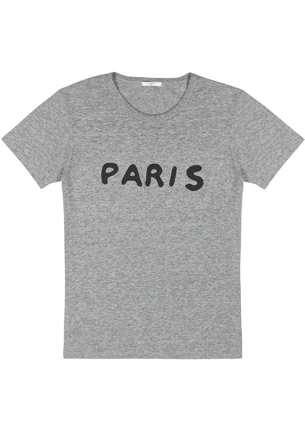 Paris printed cotton T-shirt - Rxmance