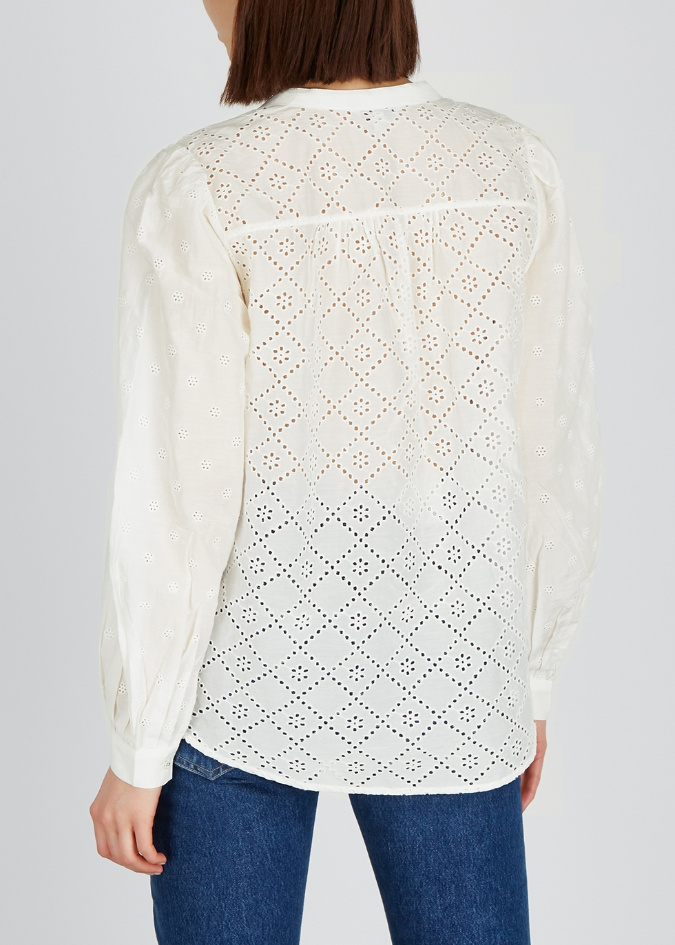 Janah broderie anglaise blouse - Joie