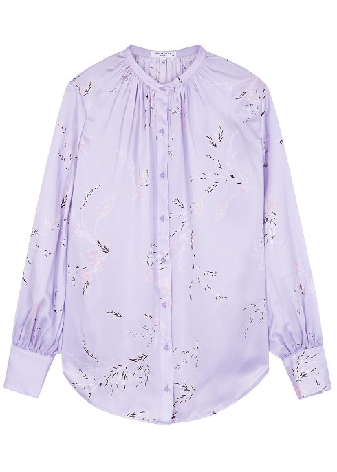 b1eccae9bf3f8 Equipment Causette printed silk blouse - Harvey Nichols