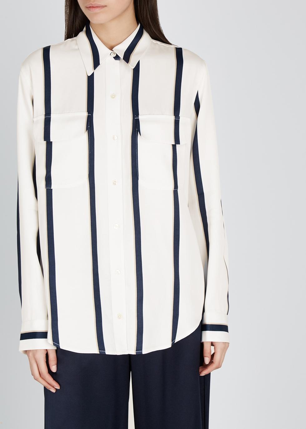 New Signature striped rayon shirt - Equipment