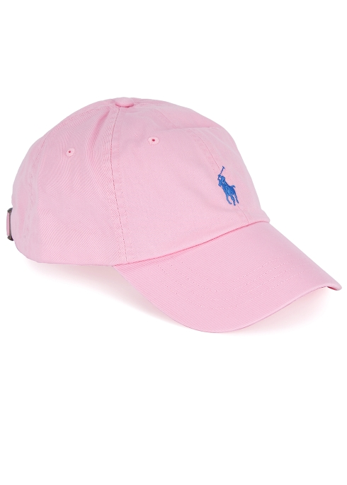 Polo Ralph Lauren Pink embroidered cap - Harvey Nichols 24b3b28a79f