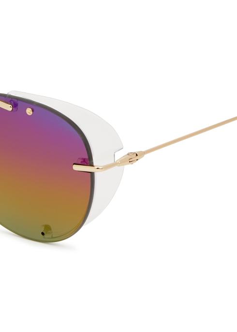 37ba4c8cbd253 Dior Homme Dior Chroma 1 aviator-style sunglasses - Harvey Nichols