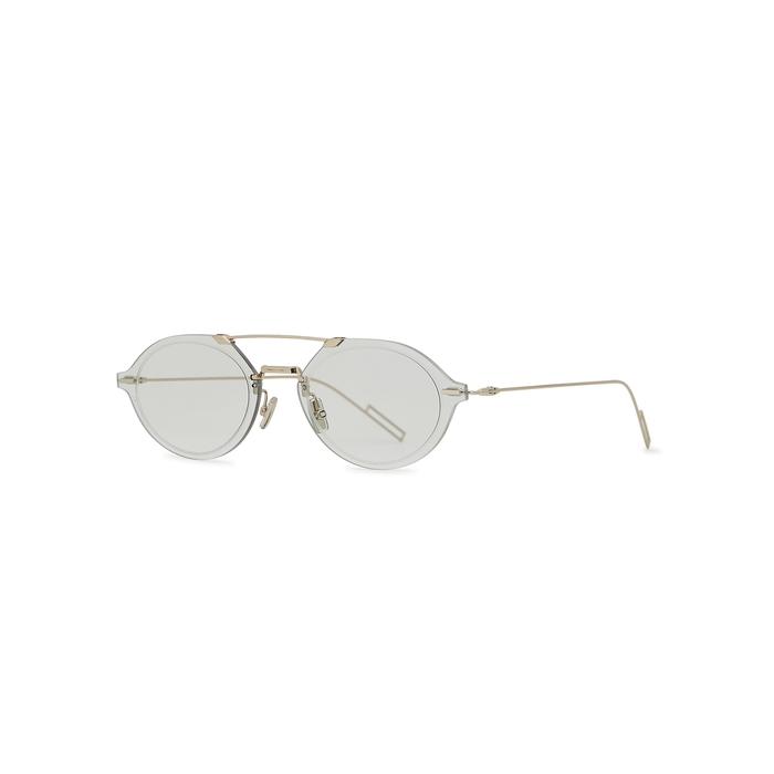 Dior Homme Dior Chroma 3 Oval-frame Sunglasses
