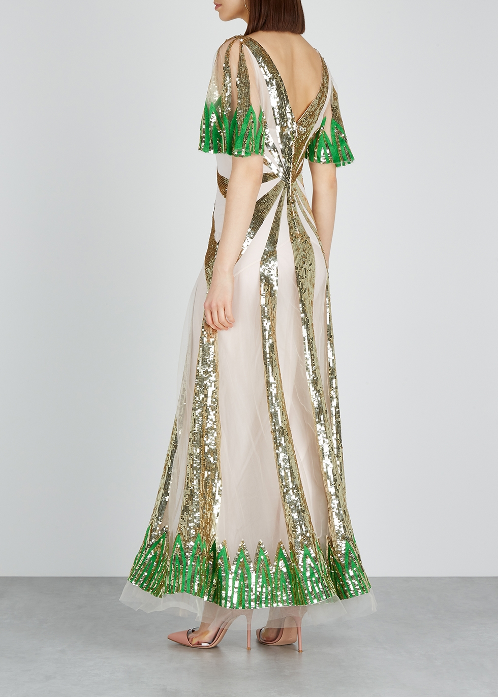 Sycamore sequinned tulle gown - Temperley
