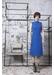Electrified blue midi dress - Boo Pala London
