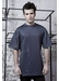 Unisex navy strata hues t-shirt - Boo Pala London